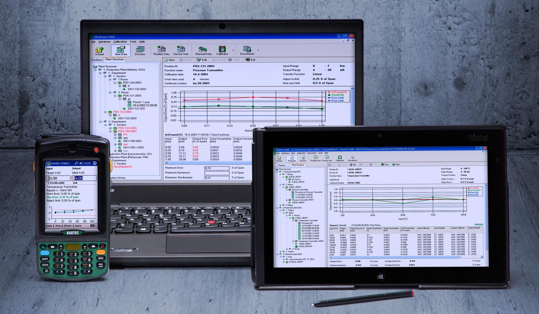 CMX Calibration Management Software