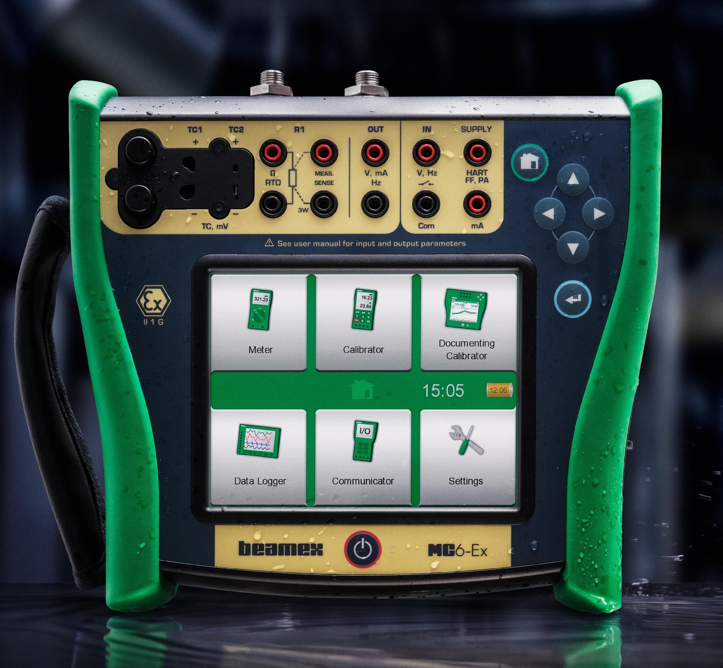 MC6-Ex Intrinsically Safe Calibrator