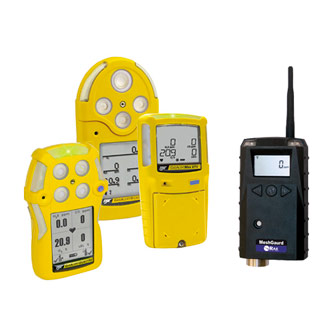 BW Technologies + RAE Systems - Full range portable gas monitors + wireless systems